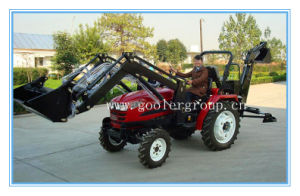 Small Garden Tractor Fit with 4in1 Front End Loader, Backhoe etc. (LZ284, TZ03D, LW-6) pictures & photos