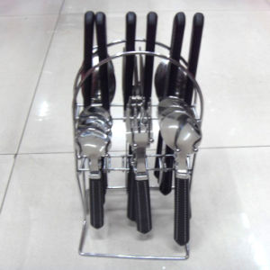 Stainless Steel Cutlery with Plastic Handle pictures & photos