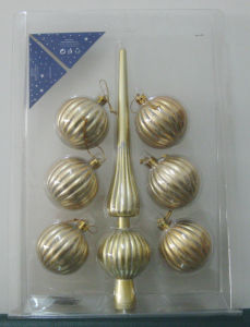Plastic Christmas Ball (RS004)
