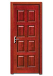 Wood Door (HDB004) pictures & photos