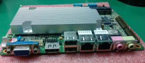 Dual-Core ATX Mother Boards D525 1.80GHz CPU Network Arm Processor Board Ich8 Chipset Mini Itx Fanless Mainboard pictures & photos