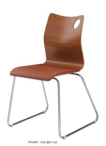 Bentwood Stackable Soft Pad Fast Food Restaurant Chair (FOH-XM36-646) pictures & photos