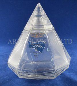 Diamond Glass Bottle (750ml) pictures & photos
