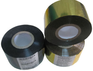 FC3 Type Black Color 35mm*122m Hot Foil Stamping Ribbon