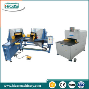 Wooden Pallet Corner Cutting Machine for Sale pictures & photos