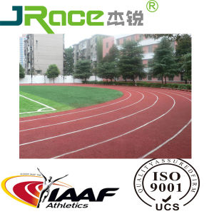 Popular Outdoor Sport Polyurethane Running Athletic Track Material-Jr110 pictures & photos