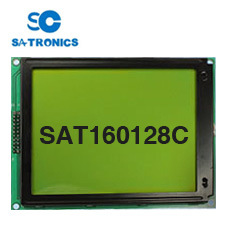 High Quality Graphic Type 160128 Dots LCD Screen (Size: 129*102mm)