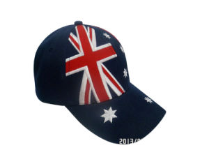 Baseball Cap in Solid Color with Logo (076P025) pictures & photos