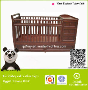 New Fashion Wooden Baby Crib, Cot, Bed