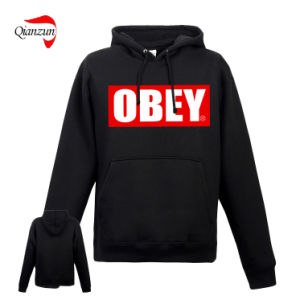 Custom Obey Hoody Jumpers with Pocket (ZN-08-01) pictures & photos