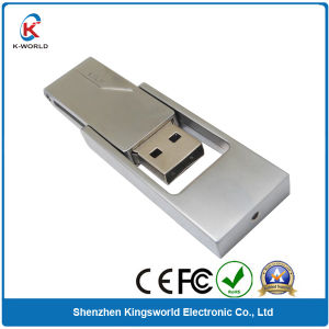 Metal Swivel USB Disk 8GB pictures & photos