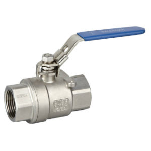 2 Piece Ball Valve in Stainless Steel 304/316 pictures & photos