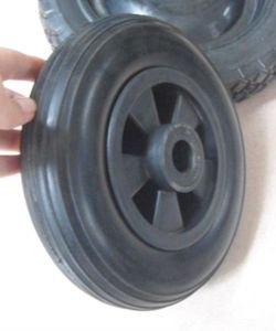 8 Inch Hot Sell PU Foam Wheels 200-50 with Rib Pattern pictures & photos