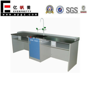 2015 Laboratory Furniture Chemistry Lab Table for Science (GT-06B) pictures & photos