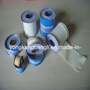 Zinc Oxide Tape Medical Adhesive Tape Metal Tin Pack pictures & photos