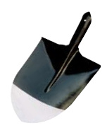 Round Head Shovel