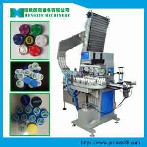 Four Color Automatic Closure Pad Printing Machine pictures & photos