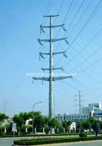 110KV(35KV) Bouble Circuit Power Angle Monopole