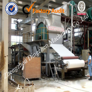Toilet Roll Paper Making Machine (Dingchen-1880mm) pictures & photos