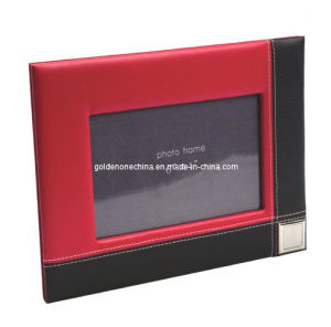 Fashion Design PU Leather Photo Frame (PF02) pictures & photos