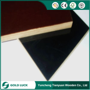 Poplar Core Film Faced Phenolic Plywood for Construction/Building pictures & photos