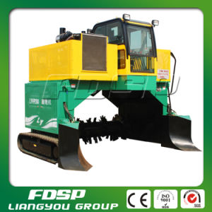 Top Selling Sewage Sludge Compost Turner Machine with CE pictures & photos