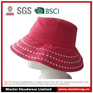 Pink Women Fashion Bucket Hat Sun Hat for Adults pictures & photos