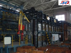 Suspansion Chain Type Half-Axle Quenching And Tempering Furnace (Industrial Furnace) pictures & photos