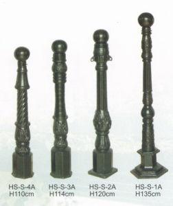 Cast Iron Road Pole Post Column (HS-S-1234A) pictures & photos
