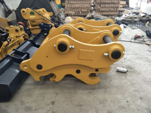 Excavator Attachment Parts of Doule Lock Pin Quick Hitch pictures & photos