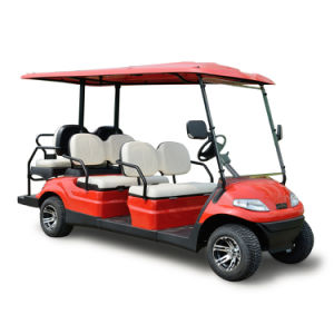 Six Seaters Fold Back Seat Electric Golf Car (LT-A627.4+2) pictures & photos