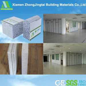 Prefabricated Composite Insulation Polyurethane Sandwich Panel for Decoration pictures & photos