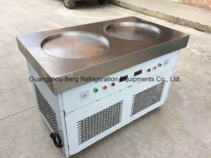 New Products Thailand Flat Pan Fry Ice Cream Roll Machine pictures & photos