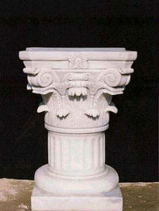 Hand Carved Marble Column for Building (SK-1882) pictures & photos