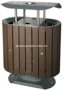 Outdoor Eco-Friendly WPC Garbage Bin (DL21) pictures & photos