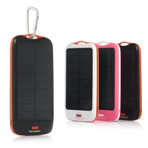 10000mAh Portable Solar Panel External Battery Pack pictures & photos