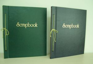 String DIY Scrapbook - Kraft Paper
