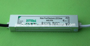 24V 16.8W CE RoHS IP67 Waterproof LED Strip Power Supply pictures & photos