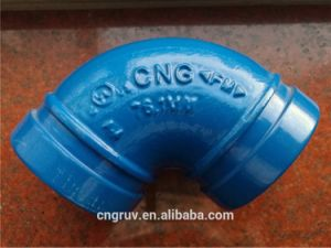 "2 1/2"" Grooved Short Elbow, Blue Color, Grooved Fittings, FM and UL Approved pictures & photos"