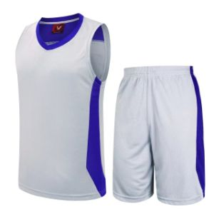 Custom Wholesale Blank Basketball Jerseys pictures & photos