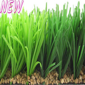 Green Artificial Grass for Soccer Court (W40) pictures & photos