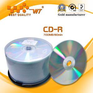 Non-Printing Blank CD-R 52x (50PCS/cake box) (WT)