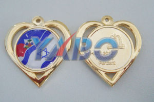 Soft Enamel Bronze Pin Badge (YB-24)
