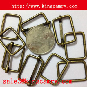 Belt Strap Buckle Metal Wire Square Buckle Wire Formed Buckle pictures & photos