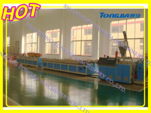 PVC Wood Plastic Profile Production Line (JG-MSX) pictures & photos
