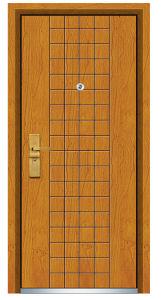 Steel Wooden Door (FXGM-C302) pictures & photos