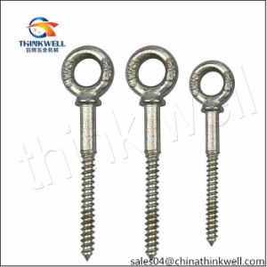 Us Type Forged Galvanized Steel Wood Eye Screw Bolt pictures & photos