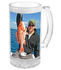 16oz Sublimation Glass Beer Stein
