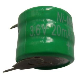 NiMH Button Cell Battery (20H 3.6V)