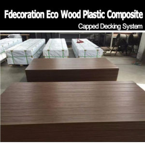 Long Lifetime Fireproof Outdoor Flooring Composite WPC Decking pictures & photos